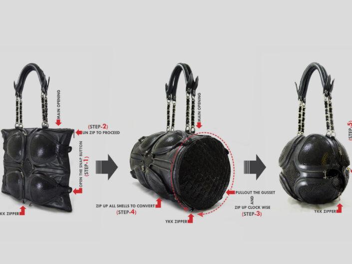Futuristic Tortoise Bag